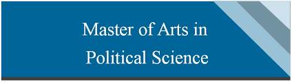 Master Art in Political Science