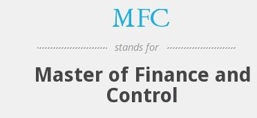 Master of Finance and Control