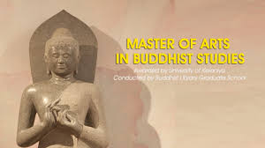 Master of Arts in Buddhist Studies